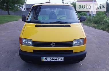 Volkswagen T4 (Transporter) пасс. 1.9 л 2001