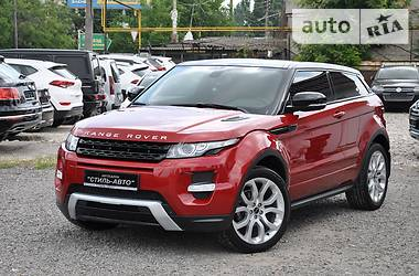 Land Rover Range Rover Evoque DINAMIC 2012