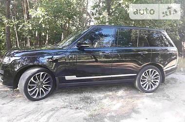 Land Rover Range Rover Vogue SE Supercharge 2013