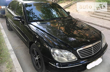 Mercedes-Benz S 600 Long President 2001