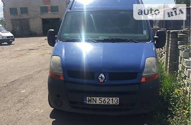 Renault Master груз. 2.5  dci 2005