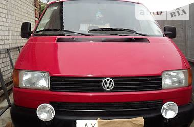 Volkswagen T4 (Transporter) пасс. 1.9 тд 2001