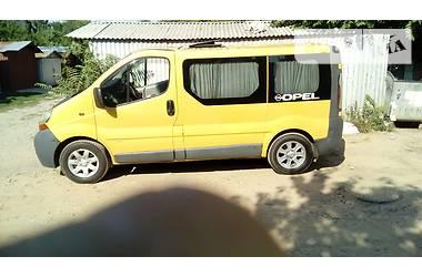 Renault Trafic пасс. 2001