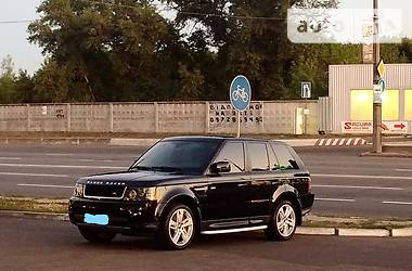 Land Rover Range Rover Sport black edition 2012