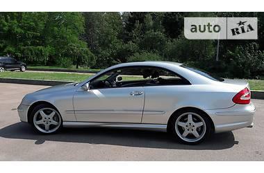 Mercedes-Benz CLK 500 2002