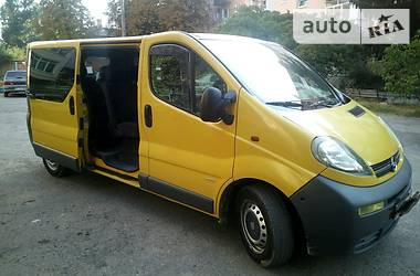 Opel Vivaro пасс. Long 2005