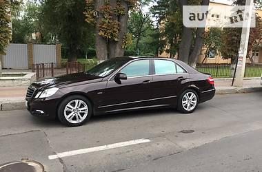 Mercedes-Benz E-Class AVANTGARDE 2010