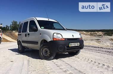 Renault Kangoo пасс. 4x4 2002