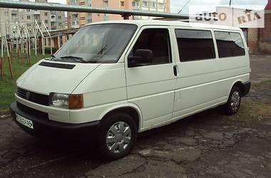 Volkswagen T4 (Transporter) пасс. 2.4 D LONG 1998