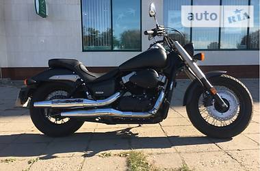 Honda VT shadow Black phantom 2012