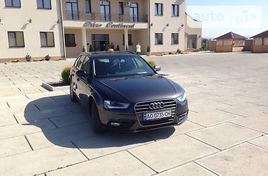 Audi A4 2.0 TDI facelift LED 2013