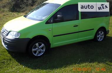 Volkswagen Caddy пасс. 2.0 2007