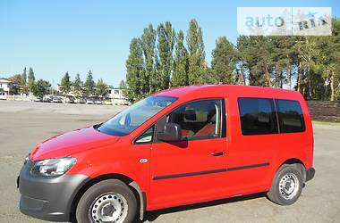 Volkswagen Caddy пасс. ECOFUEL 2010