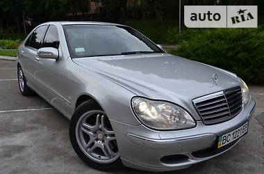 Mercedes-Benz S 500 long 4matic 2004