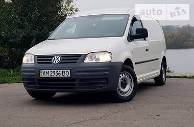Volkswagen Caddy груз. 1.9 TDI MAXI webasto 2010