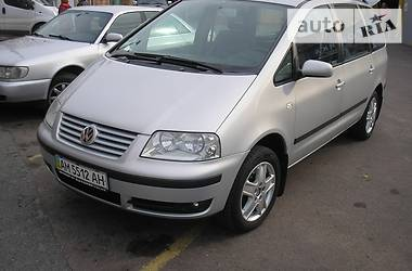 Volkswagen Sharan 1.8 T 2001
