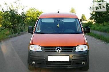 Volkswagen Caddy пасс. 2007