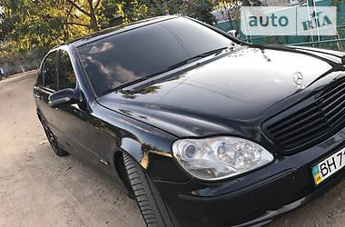 Mercedes-Benz S 600 LONG PRESIDENT 2001