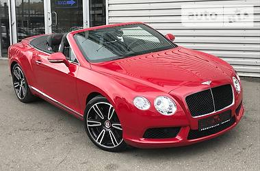 Bentley Continental GT CABRIO 2013