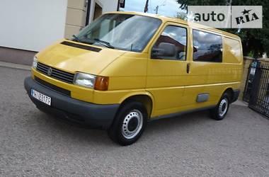 Volkswagen T4 (Transporter) пасс. 2.5 TDI 2002