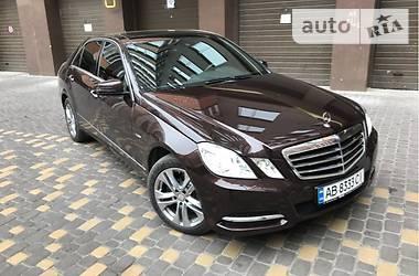 Mercedes-Benz E-Class Avantgard 2011