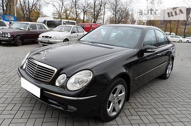 Mercedes-Benz E 500 4 matic 2004