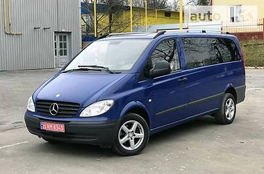 Mercedes-Benz Vito пасс. 115 Long 2009