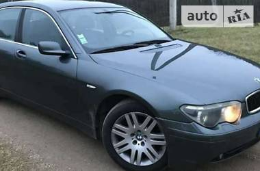 BMW 730 Е65/66 2004