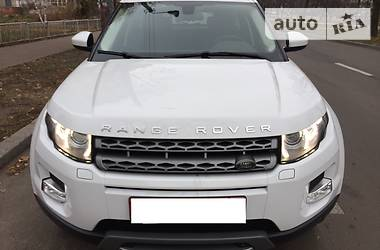Land Rover Range Rover Evoque SD4 PRESTIGE 2014