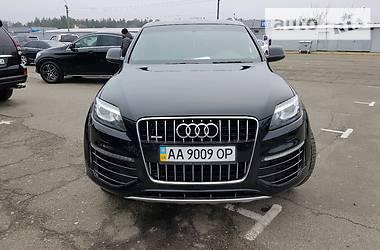 Audi Q7 S-Line 2014