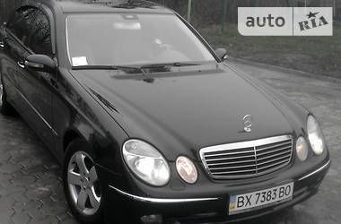 Mercedes-Benz E-Class Avantgarde 2003