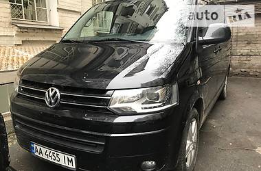 Volkswagen Multivan 4 Motion 2012
