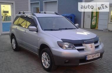 Mitsubishi Outlander Газ-бензин 2004