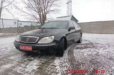 Mercedes-Benz S 600 6.0 V12 LONG 2001