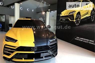 Lamborghini Urus First Cars  2018