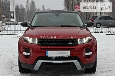 Land Rover Range Rover Evoque Dynamic 9-speed 2014