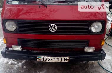 Volkswagen T3 (Transporter) грузопасажир 1986
