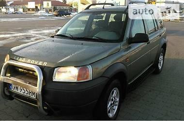 Land Rover Freelander 4х4 2001