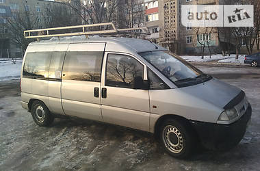 Fiat Scudo пасс. пасажир 1999