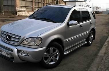 Mercedes-Benz ML 270 Final Edition 2005