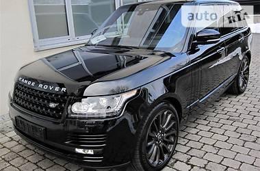 Land Rover Range Rover 4.4 Autobio Black Ed 2017