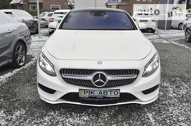Mercedes-Benz S 500 4matic Coupe 2014