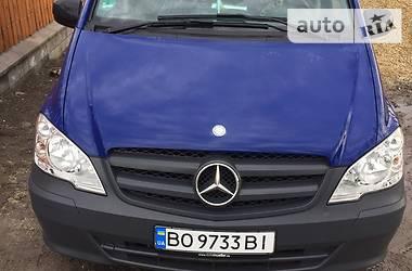 Mercedes-Benz Vito груз. LONG 113 2012