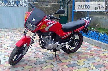 Yamaha YBR 125 red 2006