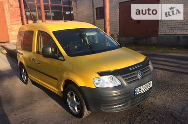 Volkswagen Caddy пасс. 2.0 SDI 2007