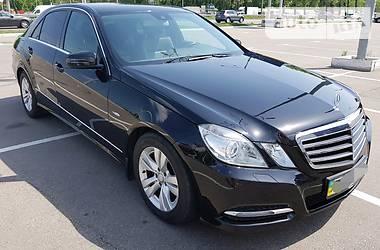 Mercedes-Benz E 220 CDI AVANTGARDE 2011