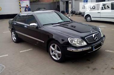 Mercedes-Benz S 600 prezident 2001