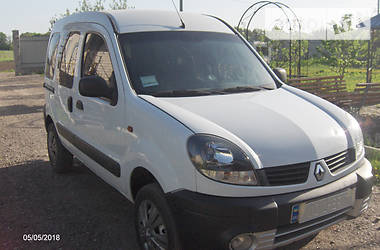 Renault Kangoo пасс. 4x4 dti 2005