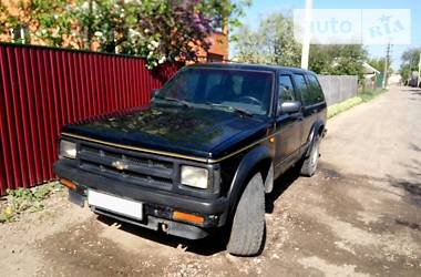 Chevrolet Blazer s10 sport 1992