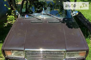 ВАЗ 2107 2107 1.5 1986
